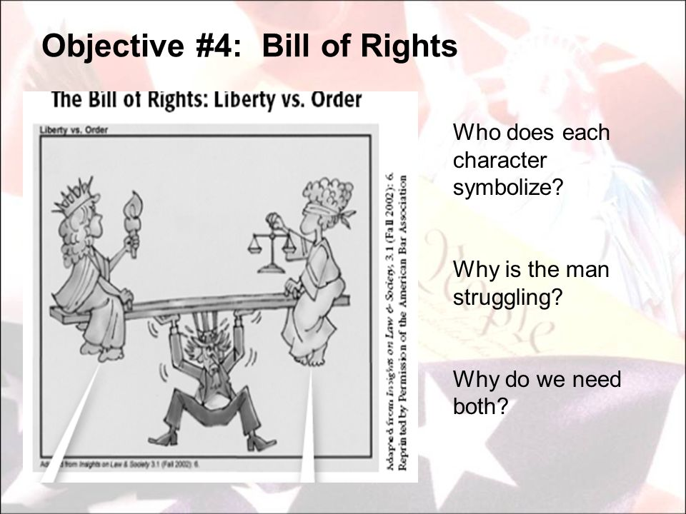 Objective #4: Bill of Rights