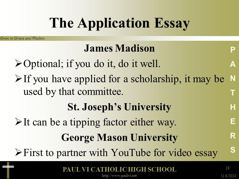 St. Joseph's University George Mason University