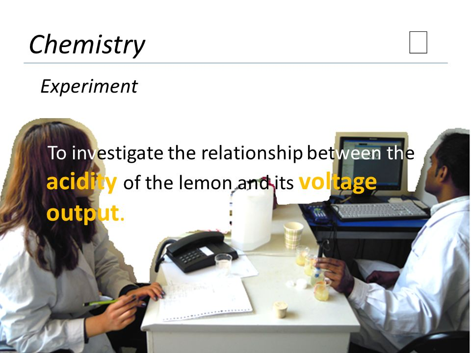 ★ Chemistry Experiment
