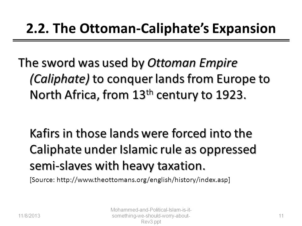 2.2. The Ottoman-Caliphate's Expansion