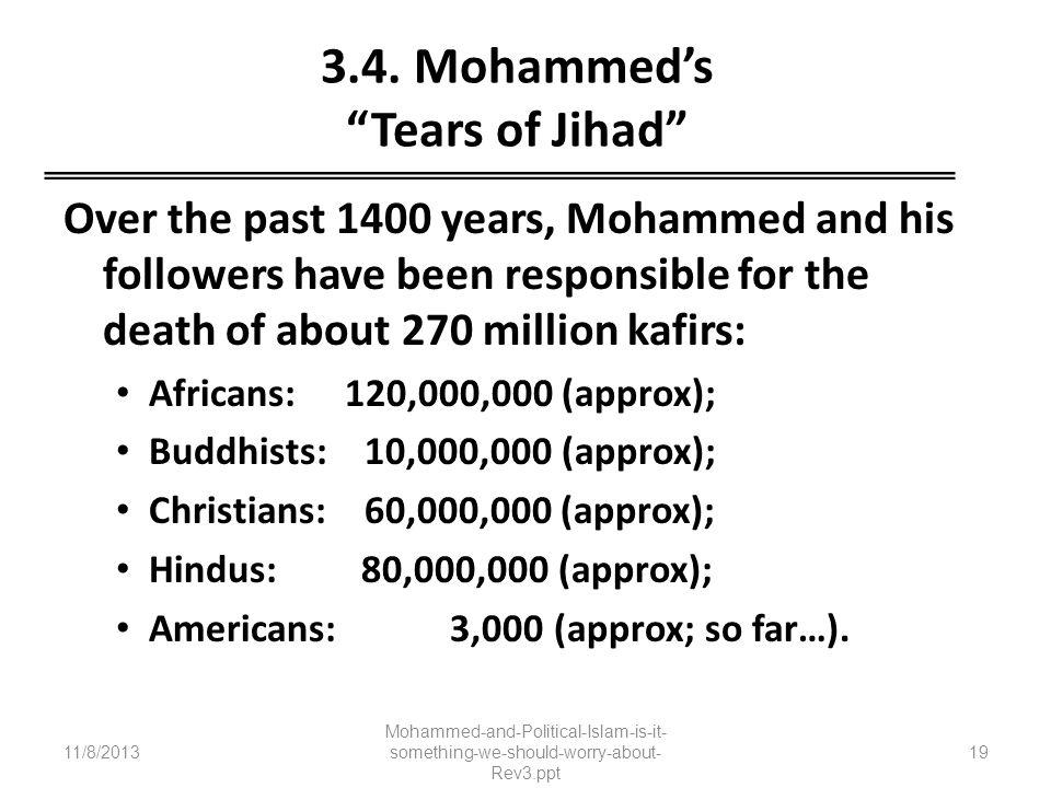 3.4. Mohammed's Tears of Jihad