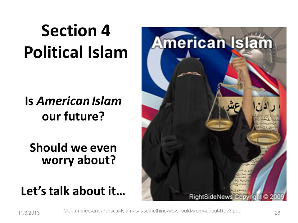 Section 4 Political Islam