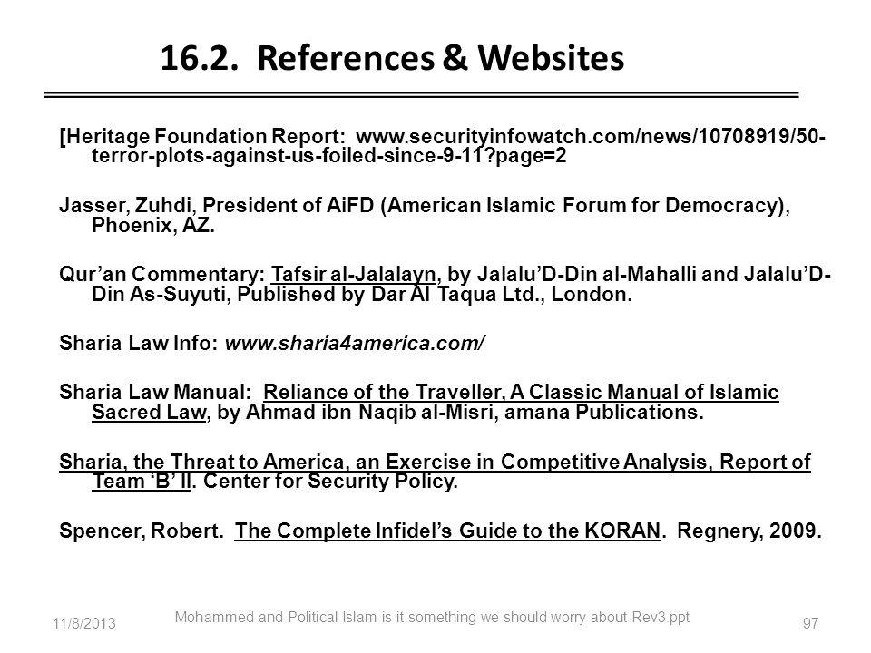 16.2. References & Websites