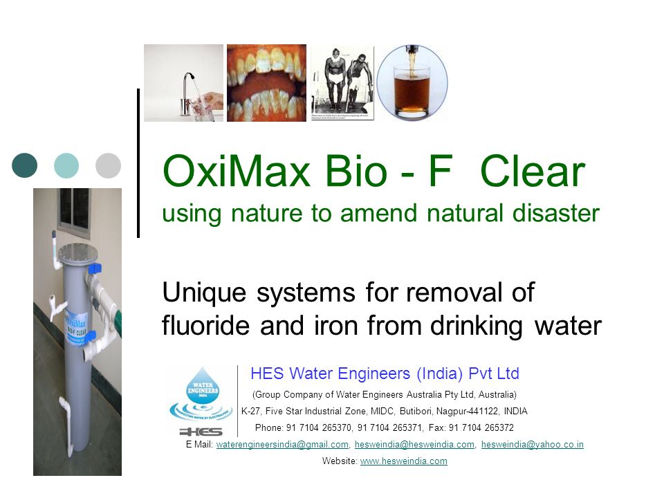 OxiMax Bio - F Clear using nature to amend natural disaster
