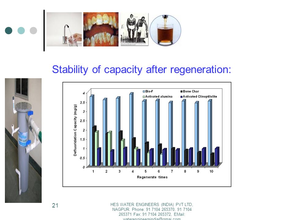 Stability of capacity after regeneration: