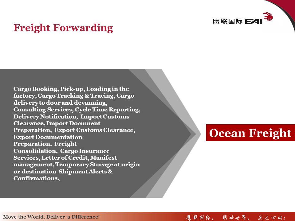 Ocean Freight Freight Forwarding