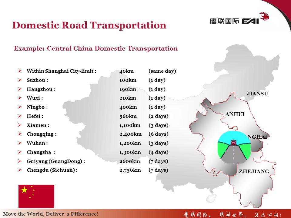 Domestic Road Transportation