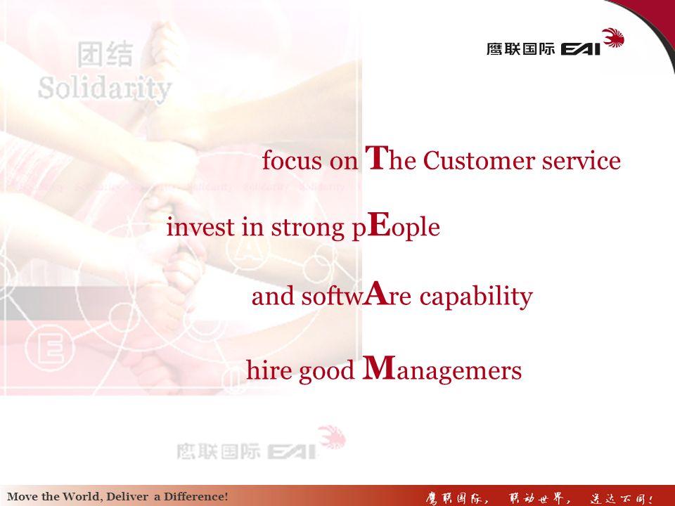 focus on The Customer service