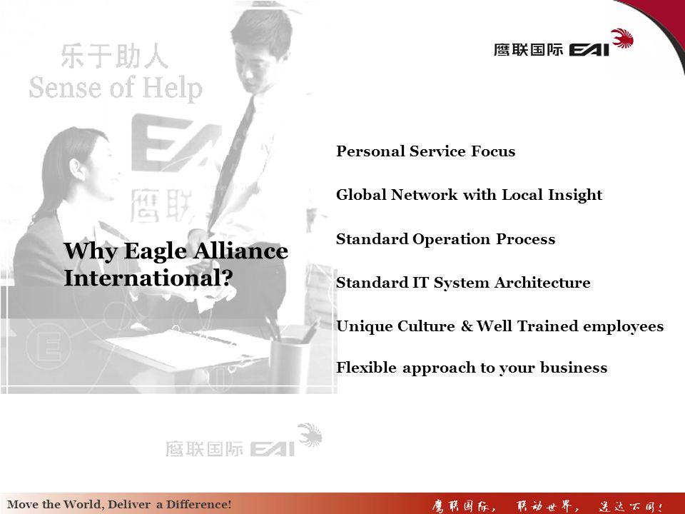 Why Eagle Alliance International