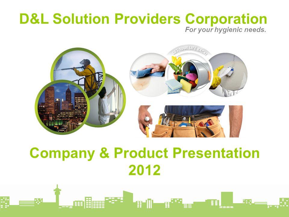 Company & Product Presentation 2012