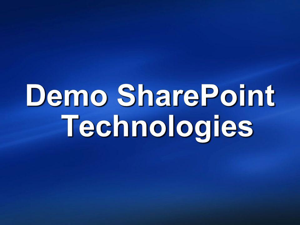 Demo SharePoint Technologies
