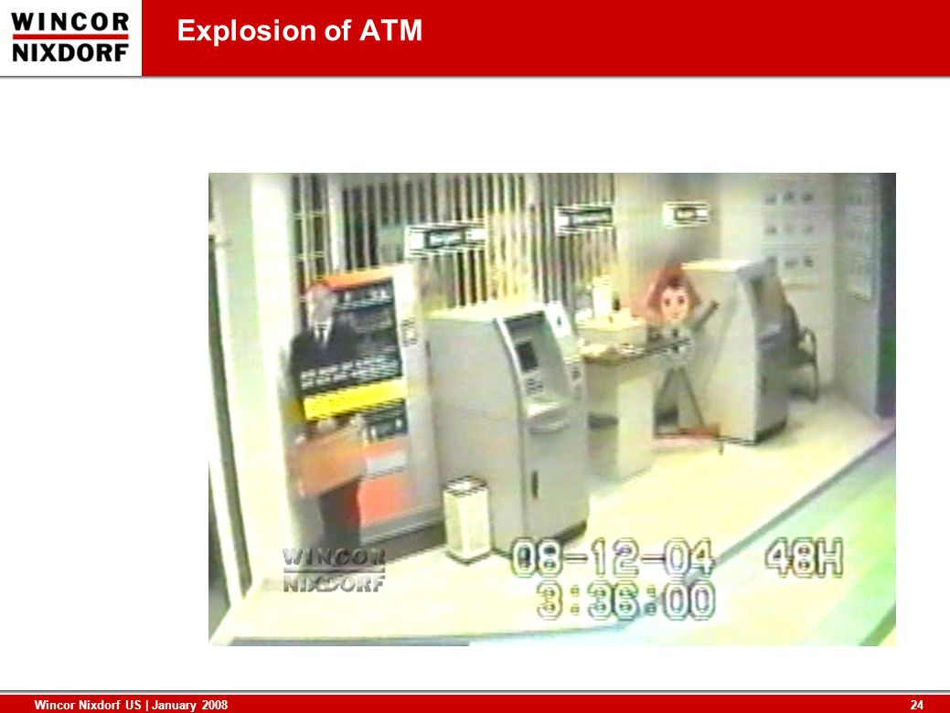 Explosion of ATM