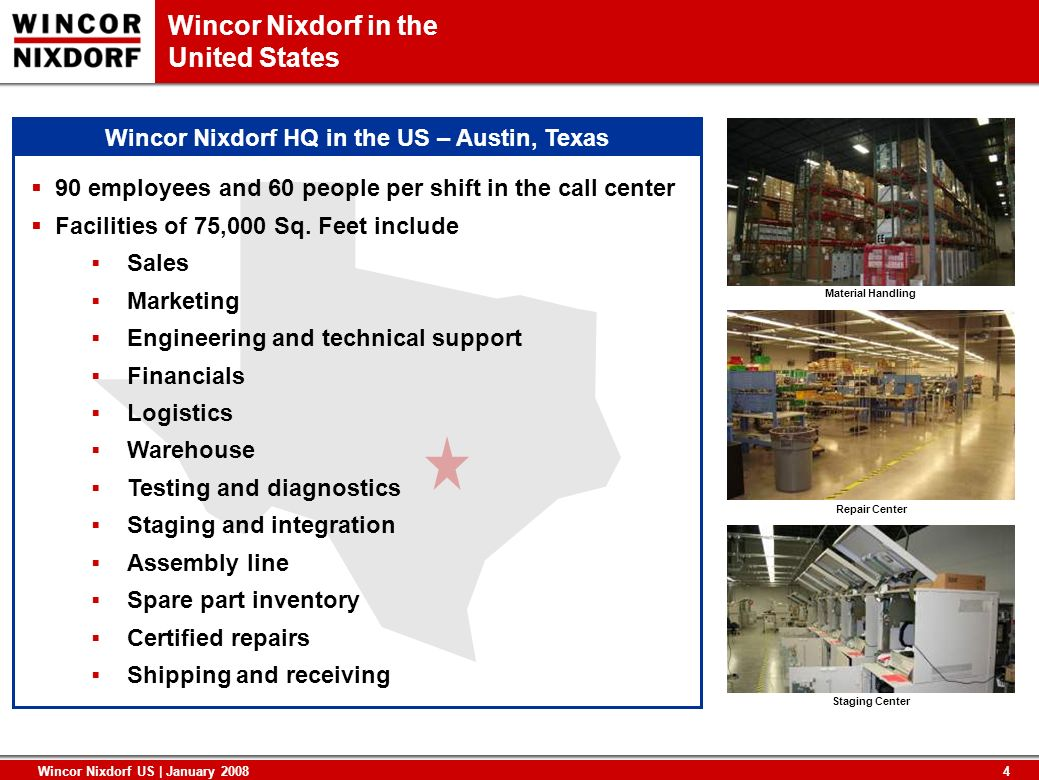 Wincor Nixdorf HQ in the US – Austin, Texas