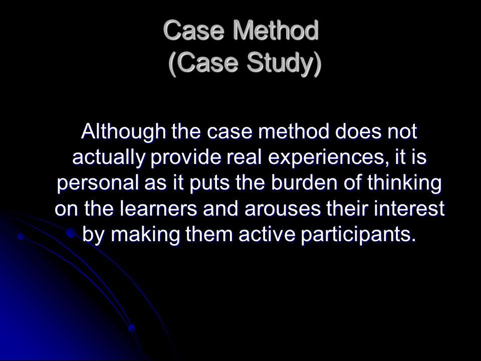 Case Method (Case Study)