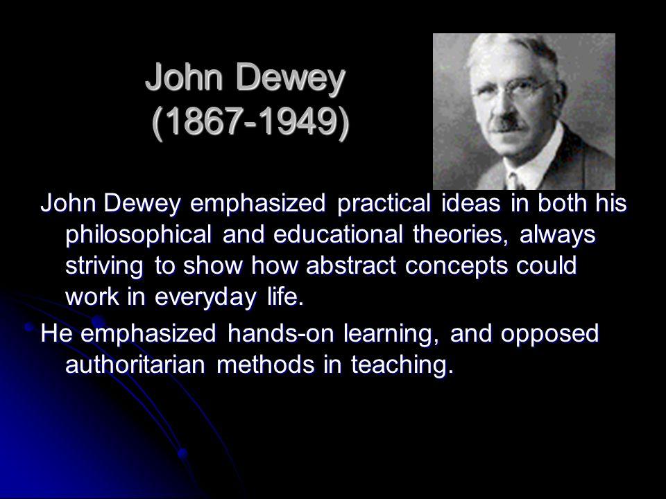 John Dewey (1867-1949)