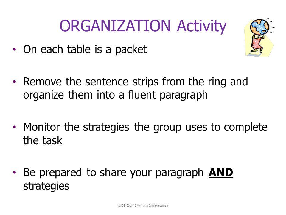 ORGANIZATION Activity