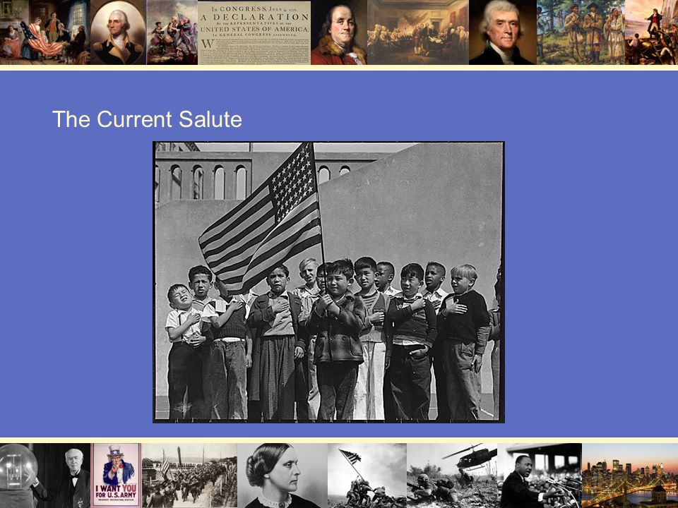 The Current Salute