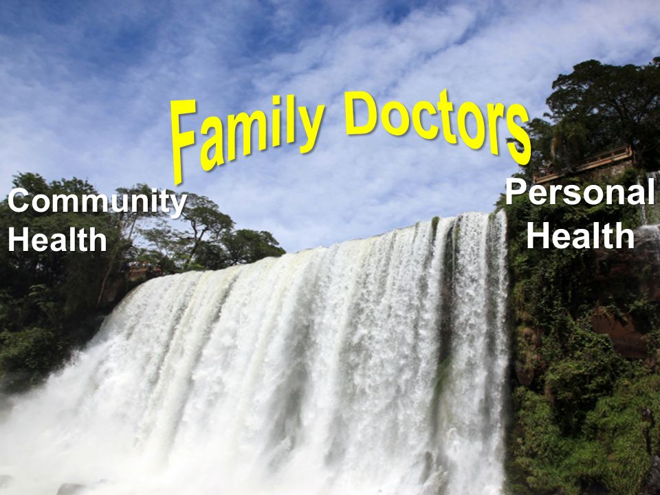 Family Doctors Personal Health Community Health
