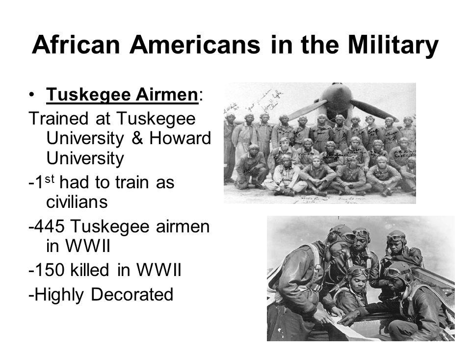 African Americans in the Military