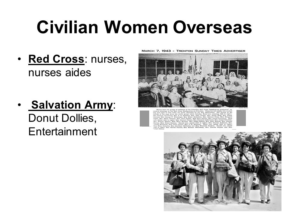 Civilian Women Overseas