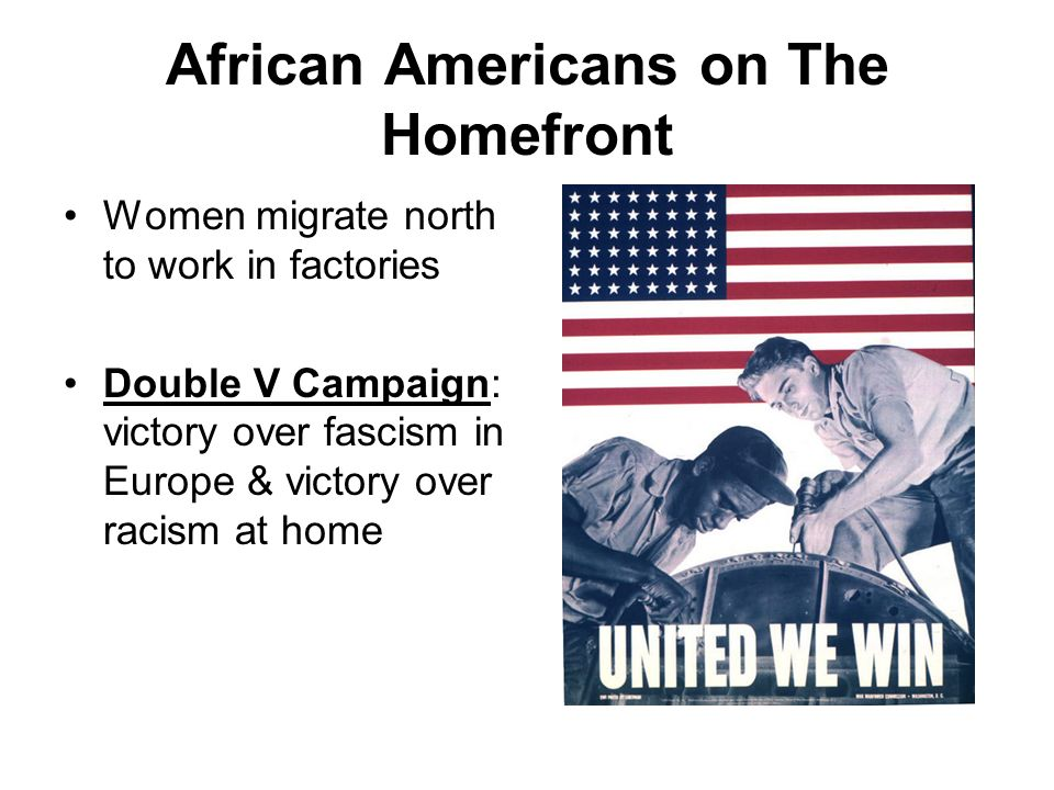 African Americans on The Homefront