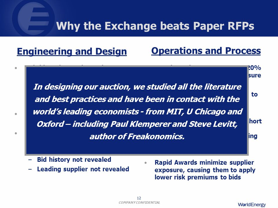 Why the Exchange beats Paper RFPs