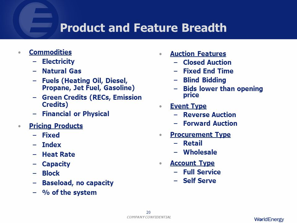 Product and Feature Breadth