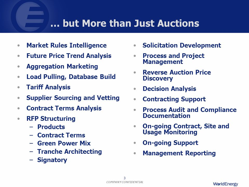 … but More than Just Auctions