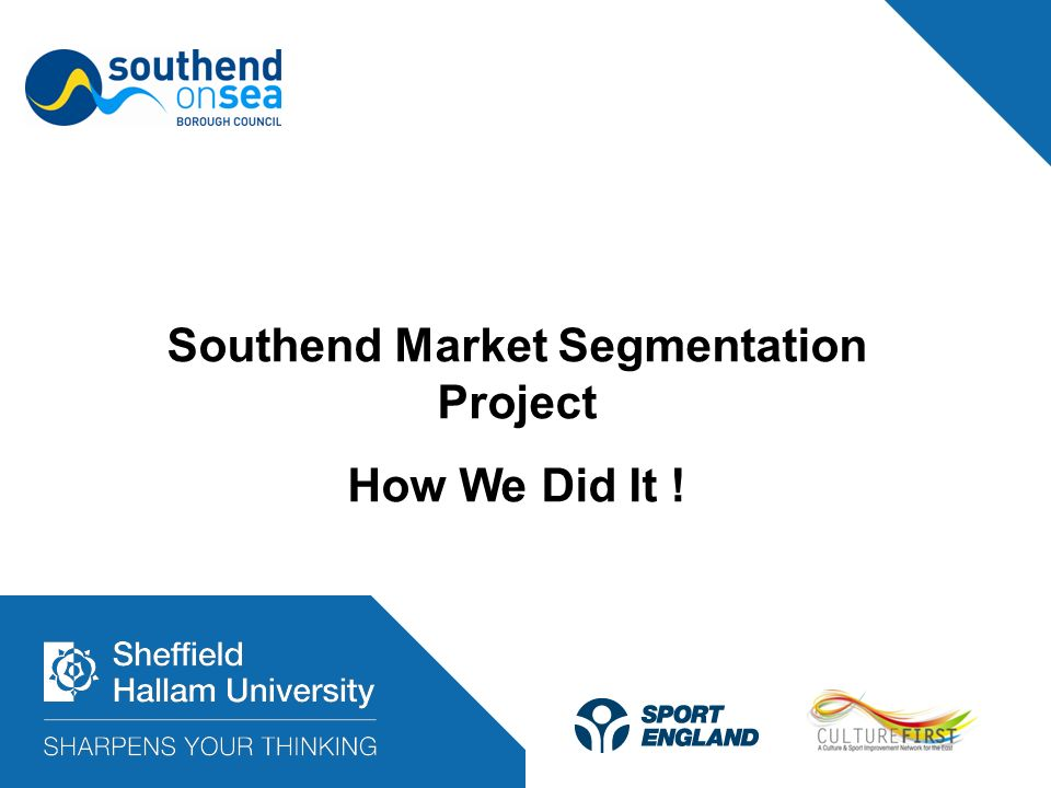 Southend Market Segmentation Project