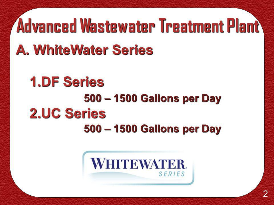 Advanced Wastewater Treatment Plant