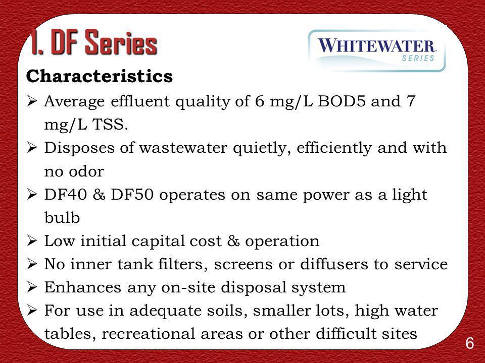 1. DF Series Characteristics