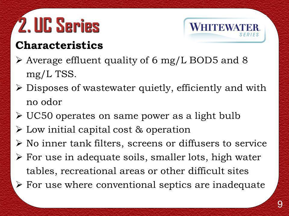 2. UC Series Characteristics