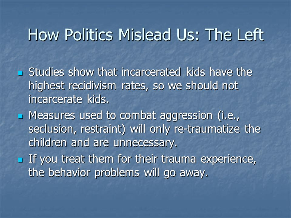 How Politics Mislead Us: The Left