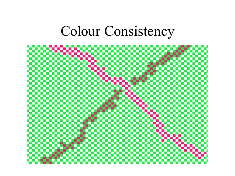 Colour Consistency Colour Perception