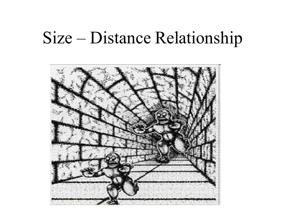 Size – Distance Relationship