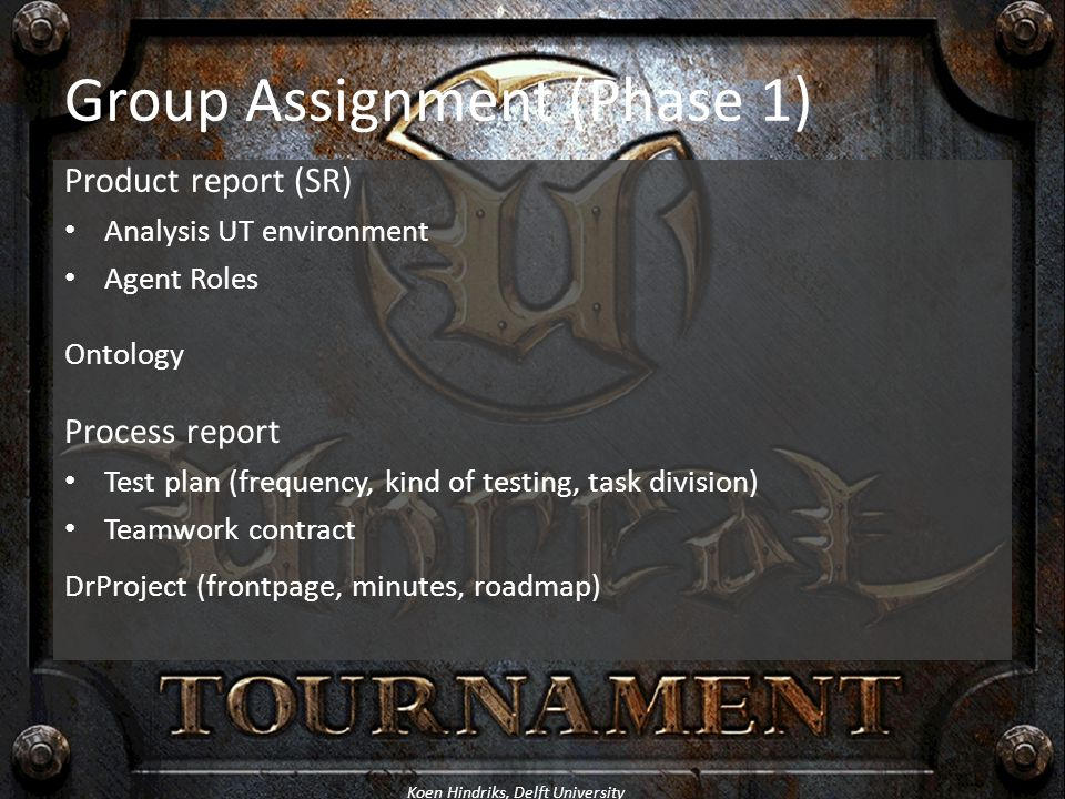 Group Assignment (Phase 1)