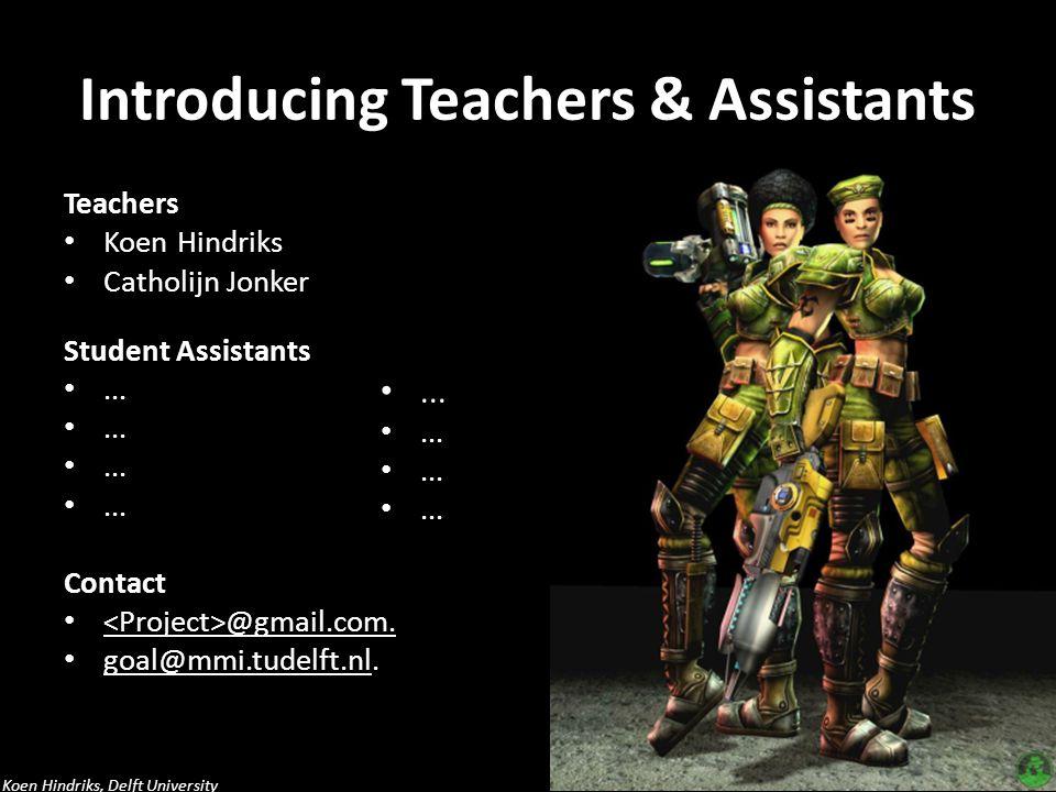 Introducing Teachers & Assistants