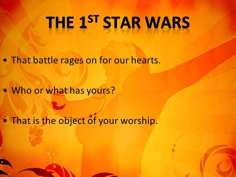 The 1st Star Wars That battle rages on for our hearts.