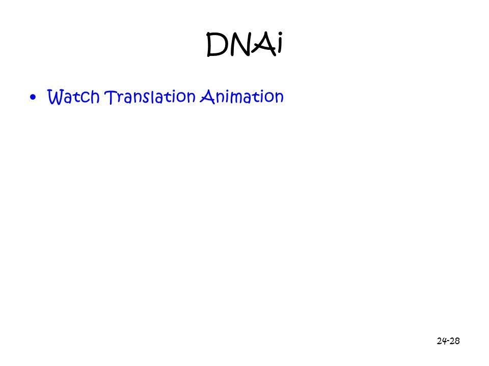 DNAi Watch Translation Animation