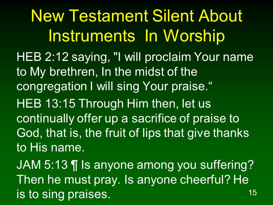 worship in the new testament pdf