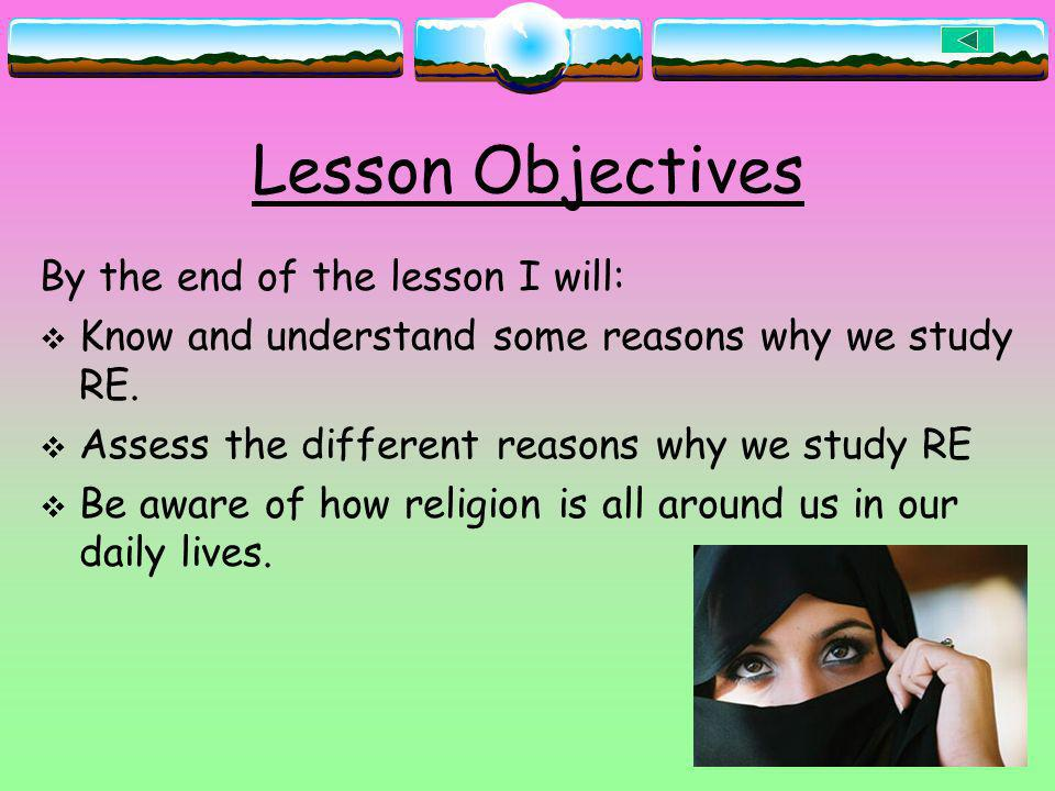 Lesson Objectives By the end of the lesson I will: