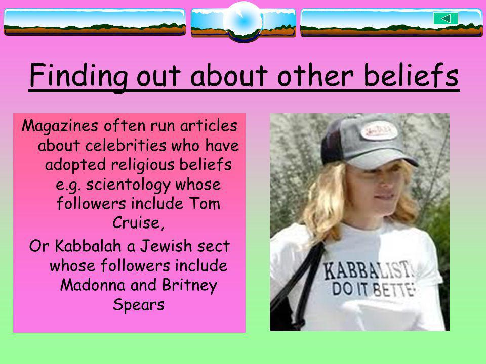 Finding out about other beliefs