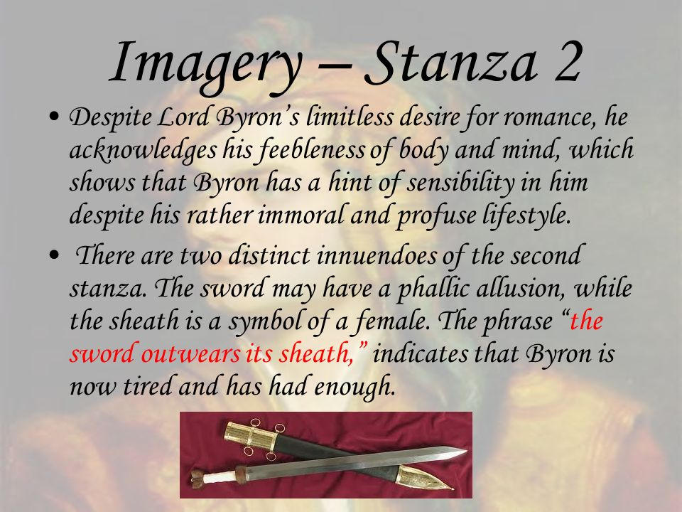 Imagery – Stanza 2