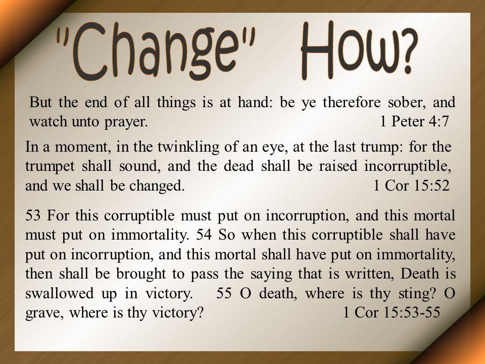 Change How