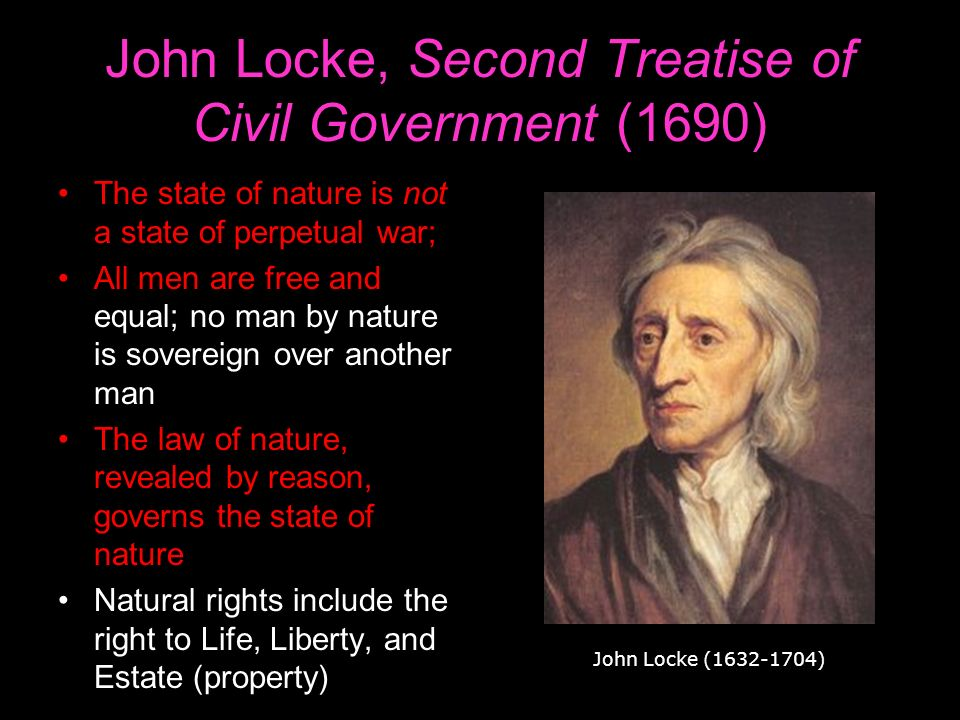 the law of nature in two treatises of government a book by john locke John locke: john locke,  the resulting essays on the law of nature (first published in 1954) constitutes an early statement of his philosophical views, many of which he retained more or less unchanged for the rest of his life  two treatises of government (1689.