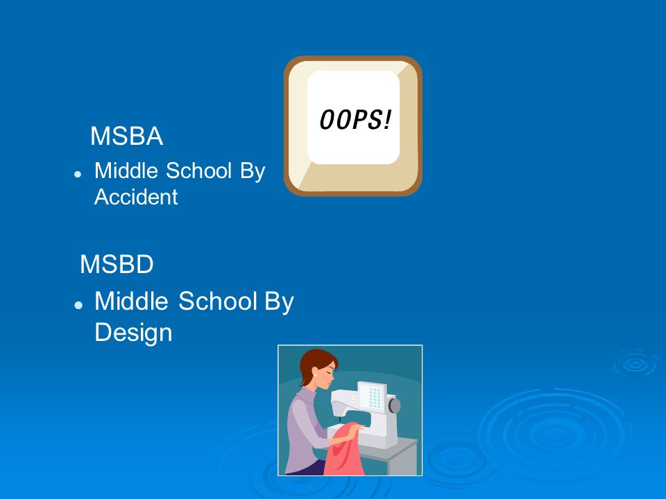 Middle School By Design