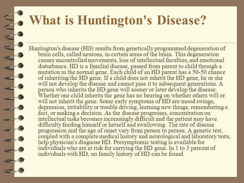 What is Huntington s Disease