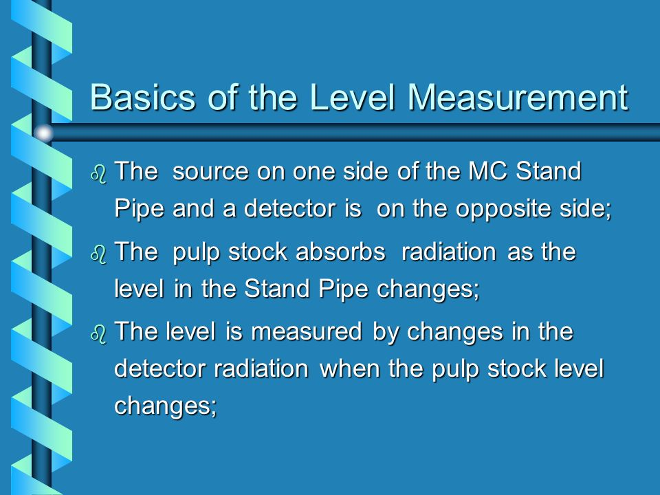 Basics of the Level Measurement