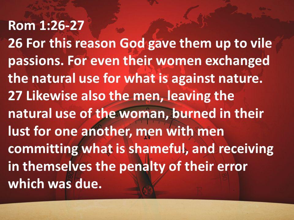 Rom 1:26-27