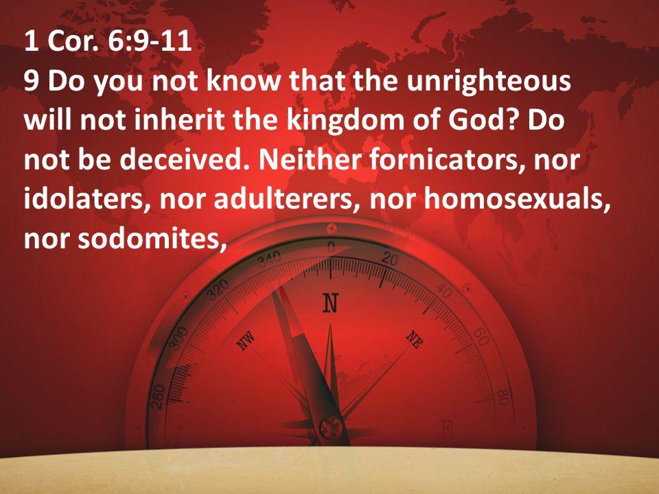 1 Cor. 6:9-11